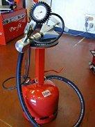Photo of tyre pressure gauge