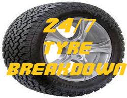 24/7 Tyre Breakdown Service
